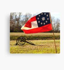 Civil War Re-Enactors Canvas Print