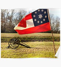 Civil War Re-Enactors Poster