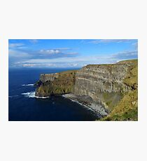 Enormity of the Cliffs of Moher Photographic Print