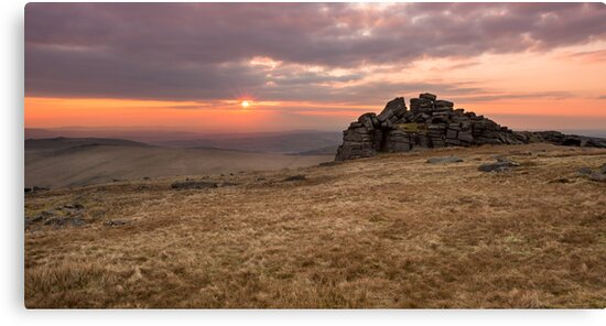 Dartmoor Sunset by asc-photography