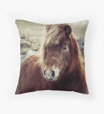 Beautiful Pony Throw Pillow