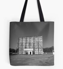 Route 66 Drive-In Movie Tote Bag