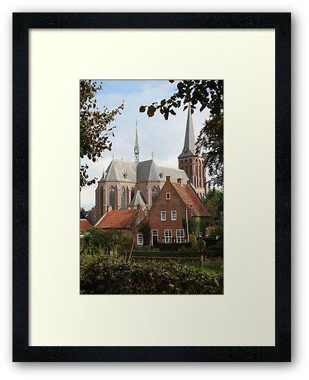 Castle, Huis Bergh, The Netherlands II by Richard Eijkenbroek
