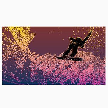 JGDG Snowboarding Flyover by skegeebeast