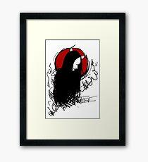 Demon (Bloodmoon) Framed Print