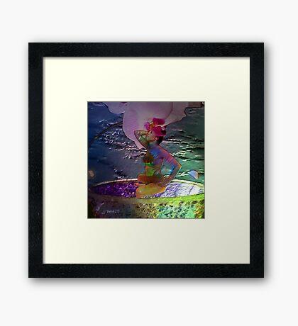 Flowergirl Framed Print