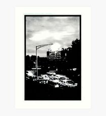 Hobart at dawn Art Print