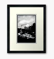 Hobart at dawn Framed Print