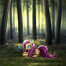 My Little Pony Fan Art - Fluttershy by MylaFox