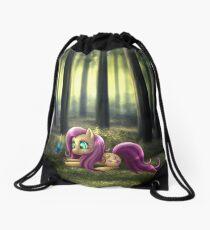 My Little Pony Fan Art - Fluttershy Drawstring Bag