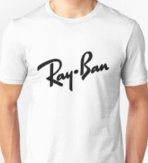 Ray Bans Logo (Graphic Tee) Unisex T-Shirt