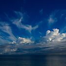 Storm clouds over Geographe bay by adbetron
