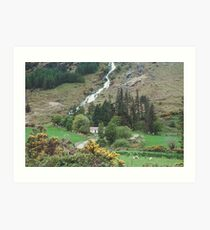 Glenmalure Farmhouse Art Print