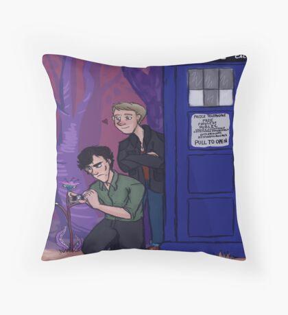 Wholock Throw Pillow