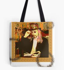 Steampunk Library Tote Bag