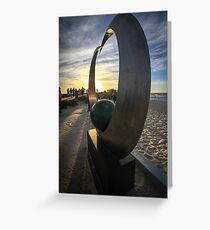 Sculptures by the Sea Greeting Card