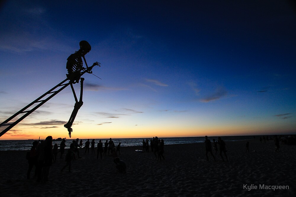 Skeleton Art by Jeddaphoto