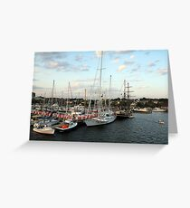 Sunset on Narragansett Bay 9 Greeting Card