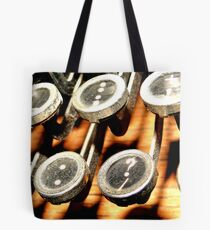 Important Buttons Tote Bag