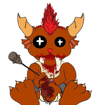 Demonic Baby Creature by Unsanitaryprod