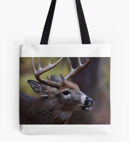 Big 10-pointer - White-tailed Deer Tote Bag