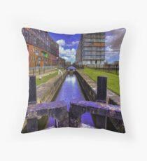 Lock 3 Ashton Canal Throw Pillow