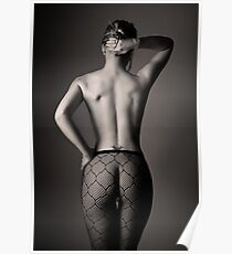 Curves and lighting Poster