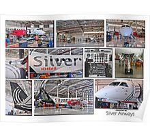 Silver Airways Photo Collage 1 Poster