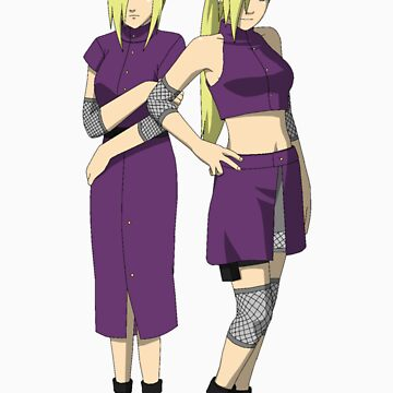Ino and Road to Ninja Ino by jjdesigns