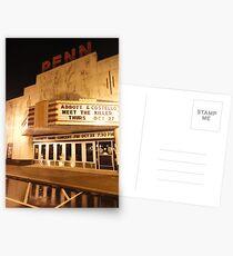 Rainy Night At The Penn Theater Postcards