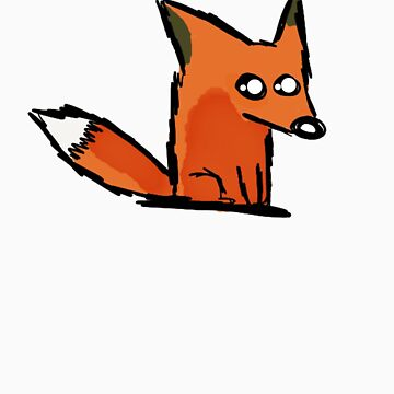 A Simple Fox for a Simple Person by Graphox