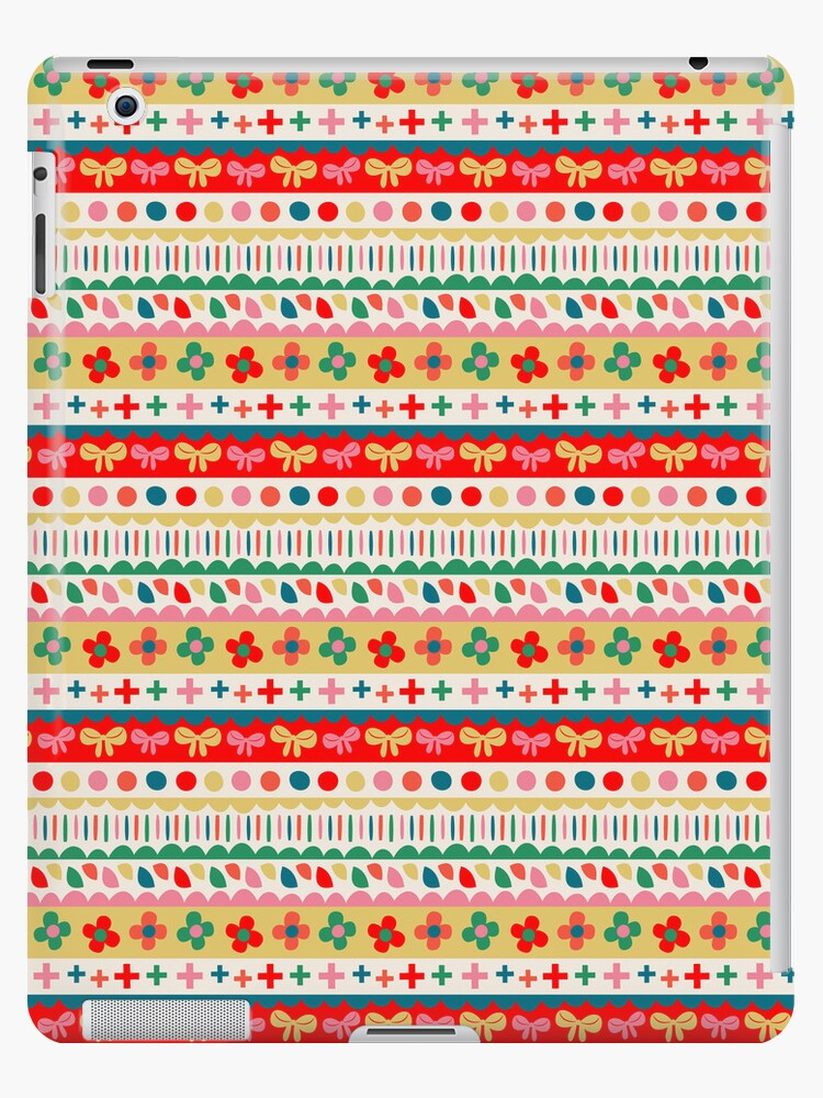 Folk Stripes by HappyDoodleLand