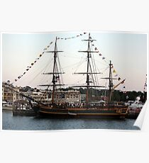 Tall Ship 1 Poster