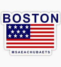 Boston Msaeachubaets Sticker