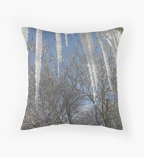 Icy! Throw Pillow