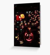 Jack-O-Lanterns 4 Greeting Card