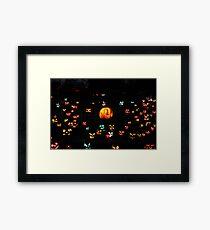 Jack-O-Lanterns 5 Framed Print