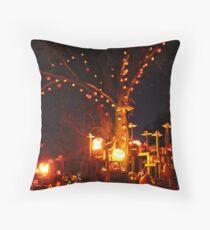 Jack-O-Lanterns 11 Throw Pillow