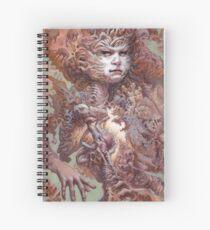 Cuaderno de espiral Entretejido