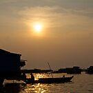 Tonle Sap River Cambodia by sarcalder