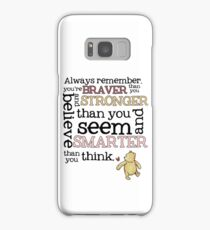 Braver than you believe Samsung Galaxy Case/Skin