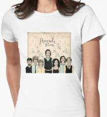 Arcade Fire Illustration Women's Fitted T-Shirt