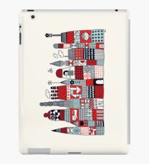 Doodle Town iPad Case/Skin