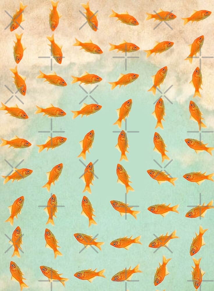 pattern gold fish 02 by Vin  Zzep
