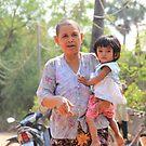 Village woman and child by sarcalder