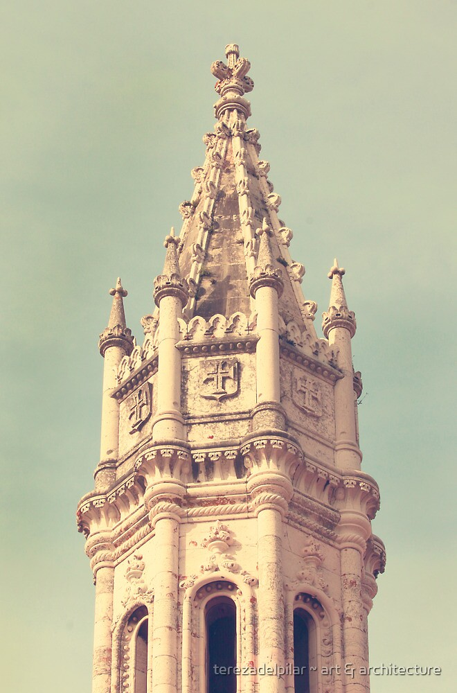 a tower. torre do mosteiro jerónimos by terezadelpilar ~ art & architecture