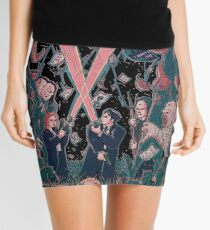 Out There Ode to The X Files Mini Skirt