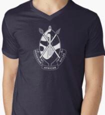Rhodesian African Rifles T-Shirt mit V-Ausschnitt für Männer