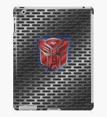 Autobot Symbol - Brushed Metal 1.0 iPad Case/Skin