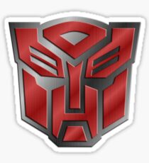 Autobot Symbol - Brushed Metal 3.0 Sticker